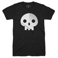 """""""I Want Your Skull"""" designed by Christopher Michon. Who doesn't need another black shirt with a skull on it?"""
