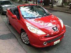 Peugeot 206 Cc 2008 Convertible 1.6 Turbo Rojo Todo Pagado - $ 164,000.00
