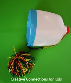 Milk Jug Toss - great for coordination, gross motor! - - Pinned by @PediaStaff – Please Visit http://ht.ly/63sNt for all our pediatric therapy pins