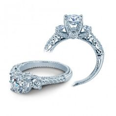 The animation of romance is captured perfectly in the look of the Venetian diamond engagement ring, thanks to coupling of a diamond twisted band and Round brilliant cut diamond sides. Most Popular Engagement Rings, Engagement Ring Buying Guide, Princess Cut Engagement Rings, Three Stone Engagement Rings, Engagement Ring Styles, Rose Gold Engagement Ring, Vintage Engagement Rings, Diamond Wedding Bands, Wedding Rings