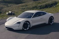 Porsche Taycan Electric Car To Challenge Tesla Porsche Taycan Electric Car Porsche