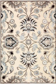 Eden Utopia Area Rug - Synthetic Rugs - Traditional Rugs - Area Rugs - Rugs | HomeDecorators.com
