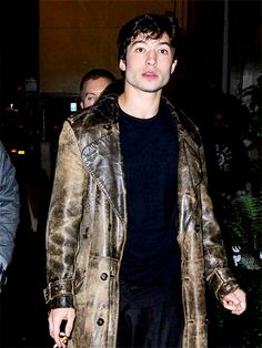 Ezra Miller out in London.