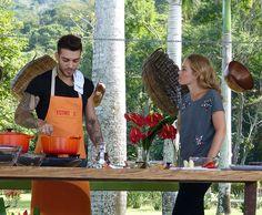 Lucas Lucco ensina uma deliciosa receita para Angélica (Foto: Gabriela Bispo/Gshow)