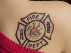 Definitely getting a matchingish tattoo like Tim's but way cooler once I start actually kicking fire's butt.
