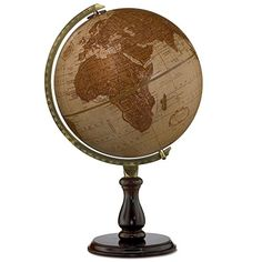 Replogle Globes Leather Expedition Globe, 12-Inch Diameter