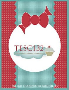 TESC card sketch No. 132. #cards #card_making #sketches #crafts
