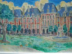 Place des Vosges,Paris  Marcel Serraillier   serraillier@aol.com