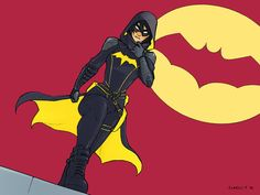 Batgirl - Cassandra Cain by charlestanart.deviantart.com on @DeviantArt