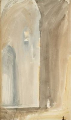 Joseph Mallord William Turner, Interior of an Italian Church, Naples: Rome. C. Studies Sketchbook, 1819