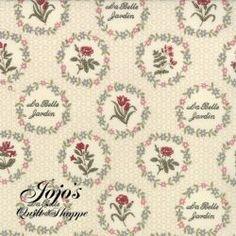 Le Belle Fleur Pearl Yardage by French General for Moda Fabrics SKU 13631 16