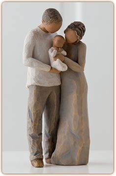 """Willow Tree """"We Are Three"""" - It used to be just you and me, Now we are three - a family!"""