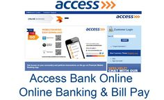 Access Bank Online - Online Banking & Bill Pay - TecNg