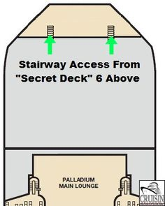 Carnival Cruise Lines - Secret Decks