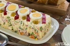 Recette de salade russe (de ma mère)