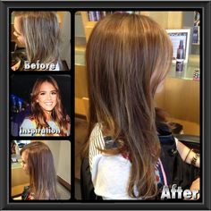 Color and balayage by nick kort at spark salon brunettes spark jessica alba hair inspiration dimensional brunette pmusecretfo Image collections