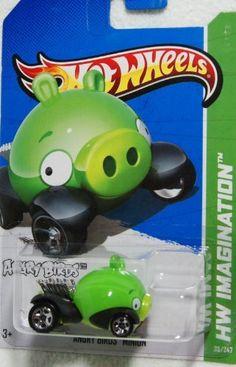 Hot Wheels Hw Imagination Angry Birds Minion Pig By Mattel   Hot Wheels