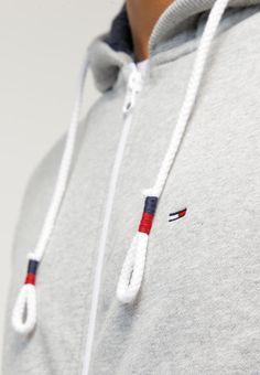 Hilfiger Denim Tracksuit top - grey - Zalando.co.uk