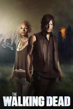 The Walking Dead ~ Daryl & Beth Fan art