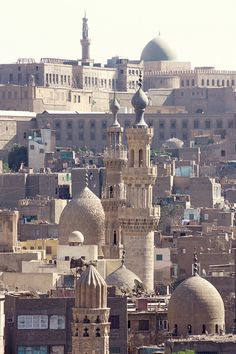 Cairo view from the minaret of the mosque Ahmad Al Maridani Medieval quarter, Cairo, Egypt. One hopes that the world stays stable enough so that people can travel to interesting and culturally rich places like this one. Places Around The World, Oh The Places You'll Go, Travel Around The World, Places To Travel, Places To Visit, Around The Worlds, Travel Destinations, Beautiful World, Beautiful Places