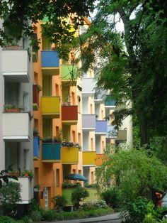 Beautiful Row of Apts. in Berlin.
