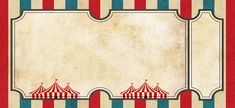 Circus Vintage invitation card templates easy to customize for your birthday wedding babyshower or any other celebration - Invitatioin Card - Ideas of Invitatioin Card - Vintage Circus Party, Circus Wedding, Vintage Carnival, Adult Circus Party, Carnival Themed Party, Carnival Birthday Parties, Circus Birthday, Carnival Invitations, Vintage Invitations