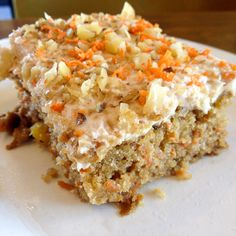 Veggie Grill's Vegan Carrot Cake