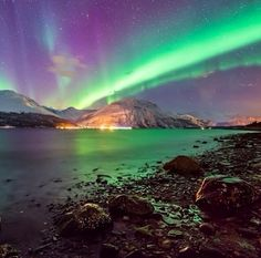 Aurora borealis Norway