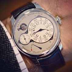 Were rewinding it this weekend and showing you our video on the #fpjourne Chronometre Optimum. Visit www.HODINKEE.com for the full run-down.  (at www.hodinkee.com)