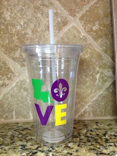Love Louisiana cup on Etsy, $13.00