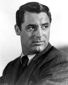 Cary Grant.<3 there is no man today who looks as good as men used to look.