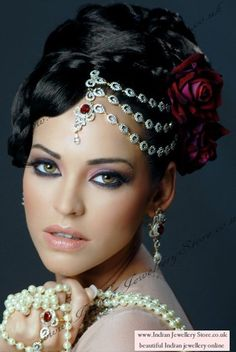 For the right bride, this is gorgeous and powerful. #ThinkOutsideTheBox #Ethnic