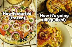 Cooking 101, Cooking Hacks, Food Hacks, Cooking Recipes, How To Make Meatballs, Homemade Ravioli, Frozen Pizza, Grilled Sandwich, How To Cook Eggs