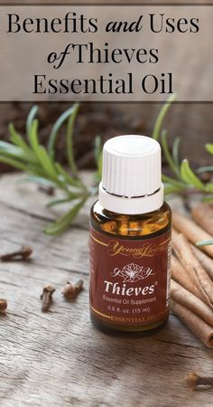 Thieves Essential Oil - {Natural Living, Natural Health, Natural Wellness, Essential Oils, Thieves Oils, Young Living, Home Remedies, Natural Remedies}