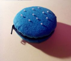 Felt cookie purse:-)