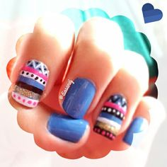 Tribal nails | nailsart