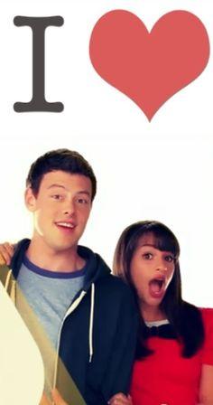 Finn and Rachel ❤ love them, I was heartbroken when Cory Monteith (Finn Hudson) died