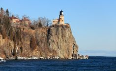 With its own climate, similar to that of a coastal region, Lake Superior has had its share of legendary shipwrecks and is home to iconic lighthouses. (From: Photos: Extreme America)