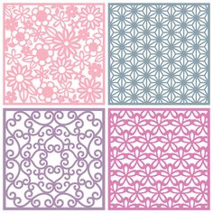 Background SVG files for using with your electronic cutting machines, terms of use can be found within your downloads or by clicking here. These Background designs are Square Patterned Panels suita…