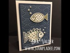 www.stampladee.com Poppin PanPastels using Deco Wall with Deb Valderwww.stampladee.com Poppin PanPastels using Deco Wall with Deb Valder#RGChallenge The stamp bundle Artful Fins is about to retire on June 30th, 2017 www.funstampersjourney.com/debvalder order number BD-0238. Paired with our other amazing products from Fun Stampers Journey, you will find this bundle so much fun! These fish are adorable and they have dies with them. Please don't miss out on their cuteness!