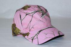 NWT Official Realtree Women's Ladies' Pink Camo Hat Hunting Baseball Cap picclick.com