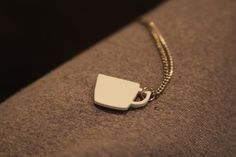 Coffee Mug Starbucks Shrinky Dink Necklace $10– or spray white shrink dink with a shiny coat of paint