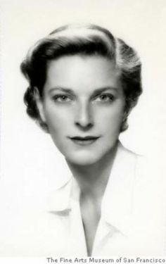 Nan Field Schlesinger in 1952