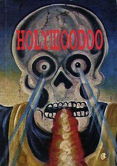 Holywoodoo - Art book, cover, Ghana movie poster art.
