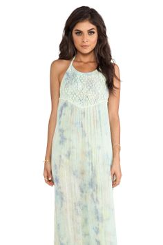 Jen's Pirate Booty Tequila Maxi Dress in Planet Earth from REVOLVEclothing   $211.00
