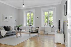 Höga fönster garanterar bra ljus