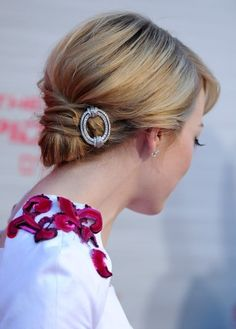 Hair Knot with accessory.