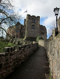 Tamworth Castle in Staffordshire, England. a Norman castle it dates from 1070