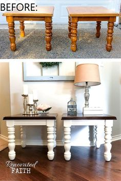 Best Furniture Flips - You won't believe Whether dressers, night stands or shelves, these budget friendly diy furniture makeovers will give you ideas to flip your thrift store finds into statement furniture pieces. Give every room in your house Redo Furniture, Furniture Hacks, Home Furniture, Painted Furniture, Cool Furniture, Refurbished Furniture, Rustic Furniture, Furniture Makeover Diy, Home Decor
