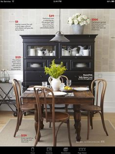 images about hutch on pinterest black hutch black dining tables